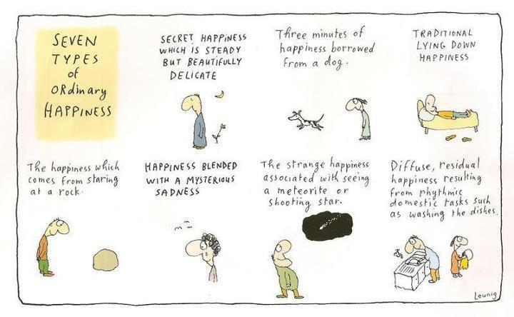 Leunig - seven types of ordinary happiness