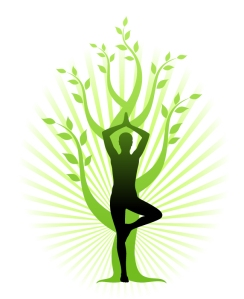 Tree Pose - grounding for the vata type