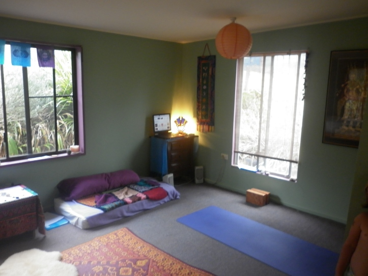 My new yoga space