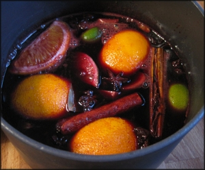 Mulled wine from A Glug of Oil