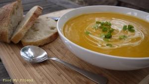Pumpkin Soup from Food My Friend