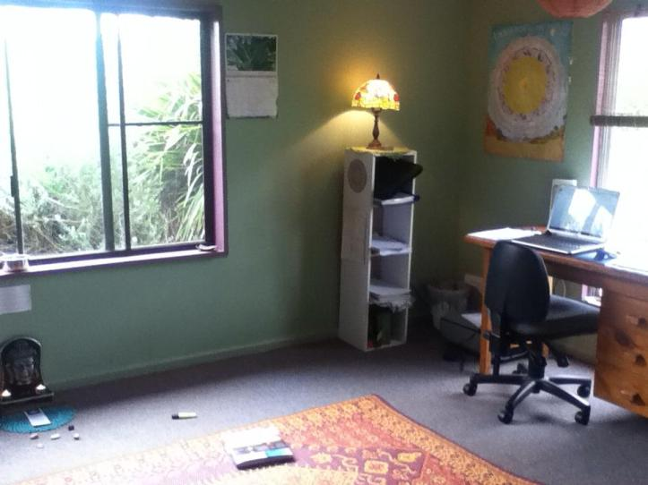 My sacred space - where I work, do yoga and regenerate.