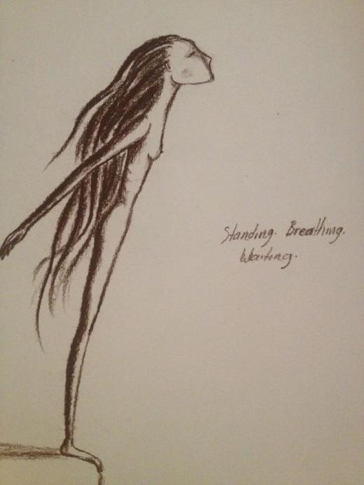 Art work by talented Bellingen artist Holly Mae