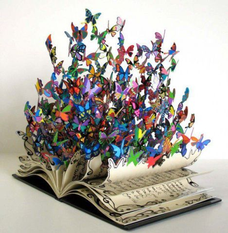 David Kracov's sculpture - The Book of Life.