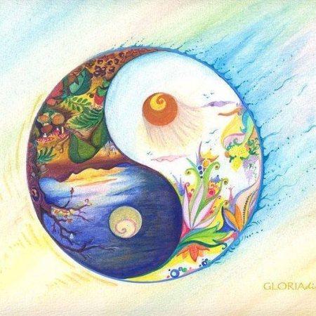 Yin Yang Spring and Autumn - Gloria Di Simone