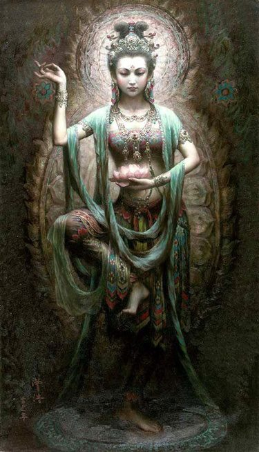 """""""Shakti' by Zeng Hao"""