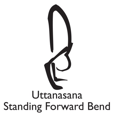 Supported forward bend: rest your forehead on a table or a chair. Hold for 2-5 minutes