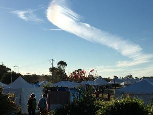 beautiful Byron Bay sky